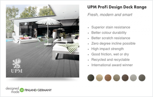 UPM Design Deck 150